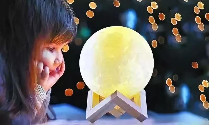 圆圆月亮图片大全可爱