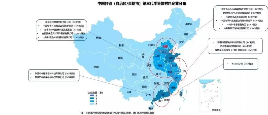 中国第三代半导体材料市场规模2021年将达到11.9亿元