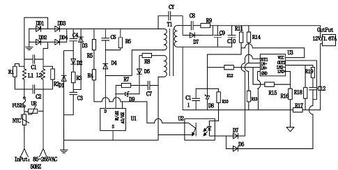 2.1 输入整流滤波电路