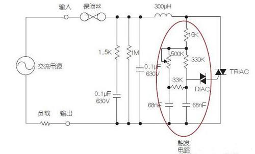 要想通过基于双向晶闸管的调光器来调节基本的led驱动器电路,就必须