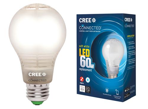 cree led智能灯泡:性能价格齐飞