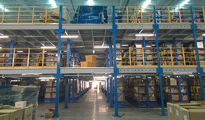 唯品会全国仓储中心LED照明项目