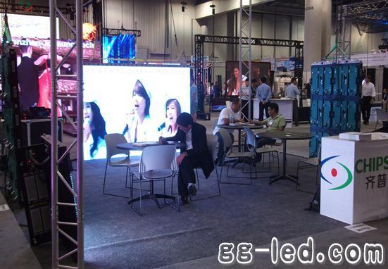 齐普光电LED显示屏璀璨绽放InfoComm 2012