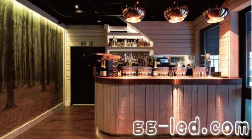 现代酒吧装修风格图片; 国外特色酒吧灯光设计案例 英国伦敦moose