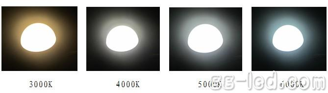 近日,瑞丰光电宣布推出高光效、高性能、贴近市场所需的陶瓷COB系列产品及其应用方案,产品系列包括3W—30W的各功率型号,色温在2700K、3000K、4000K、5000K,显指80以上,并推荐用于射灯、PAR灯、工矿灯等。 瑞丰光电指出,与铝基板COB相比,该系列产品优势在于:1)适用更高功率产品;2)可靠性更优;3)陶瓷为绝缘体,有助于LED照明产品通过各种高压测试。 瑞丰光电另外还设计了一款可调色温球泡灯,包括球泡灯和摇控器。瑞丰光电指出,通过摇控器的不同按键,球泡灯可在同一功率下,实