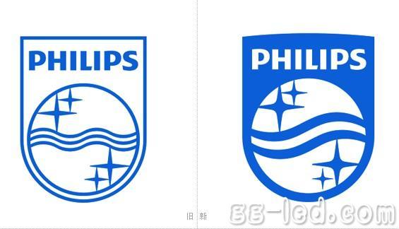 飞利浦启用新品牌口号和新LOGO设计高清图片