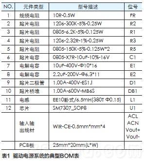 led t8/t5灯管的电源驱动方案